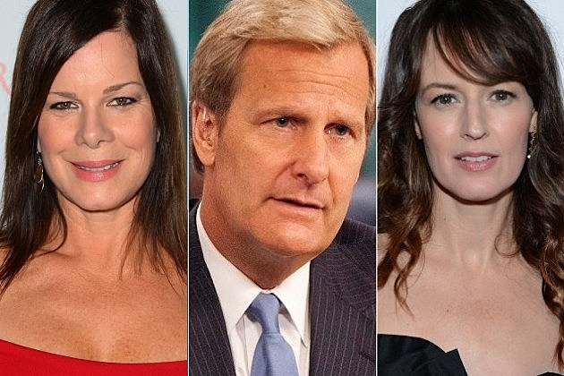 The Newsroom Season 2 Marcia Gay Harden Rosemarie DeWitt
