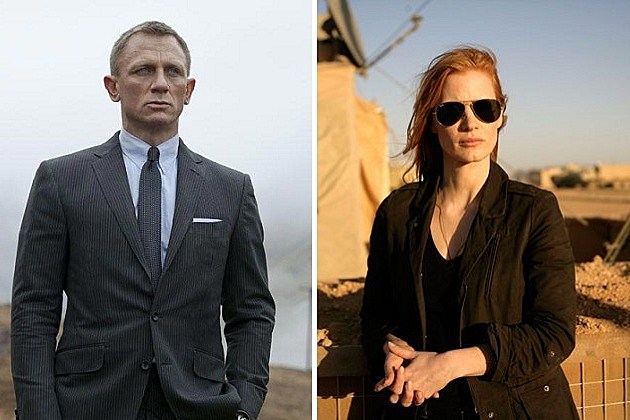 Skyfall, Zero Dark Thirty