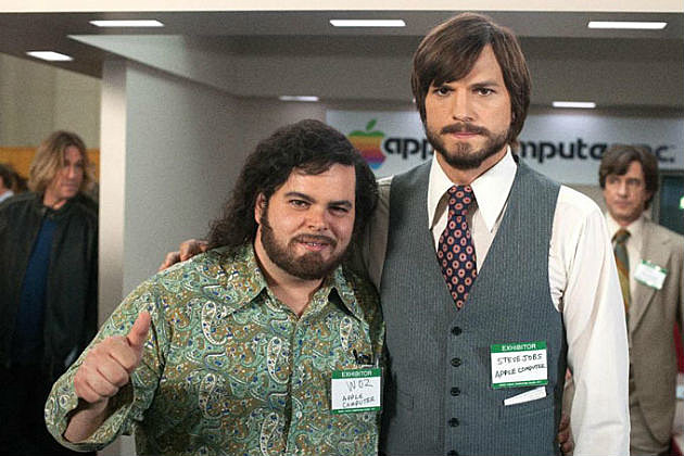 Ashton Kutcher and Josh Gad in Jobs