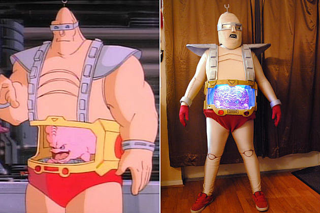 Teenage Mutant Ninja Turtles Krang cosplay