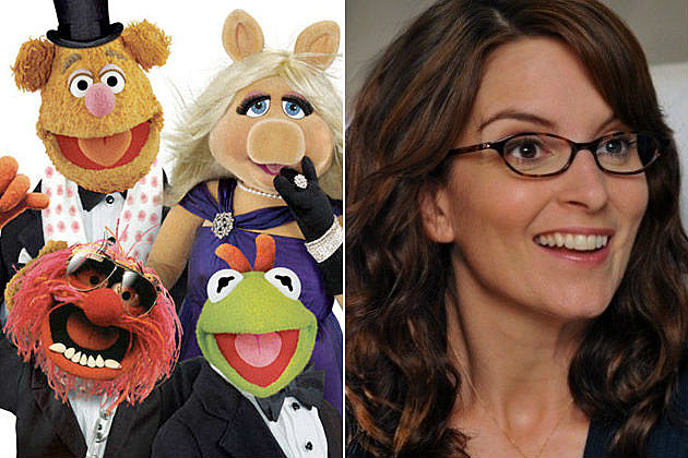 Tina Fey The Muppets 2