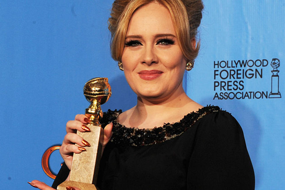 Adele Wins Best Original Song For Skyfall At The 2013 Golden Globes