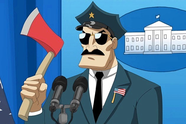 Axe Cop Animated Series President