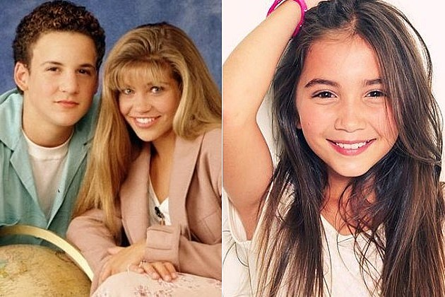 Boy Meets World Girl Meets World Riley Matthews Rowan Blanchard