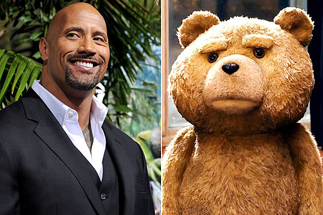 Dwayne The Rock Johnson Teddy Bear