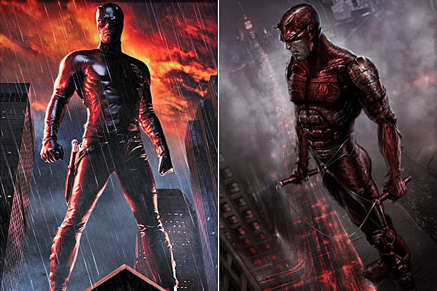 Early Movie Concept Art Daredevil