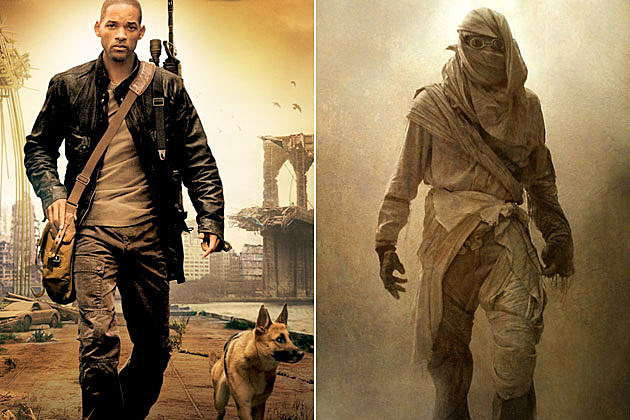 Early Movie Concept Art I Am Legend