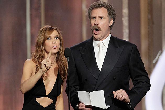 Will Ferrell Kristen Wiig 2013 Golden Globes