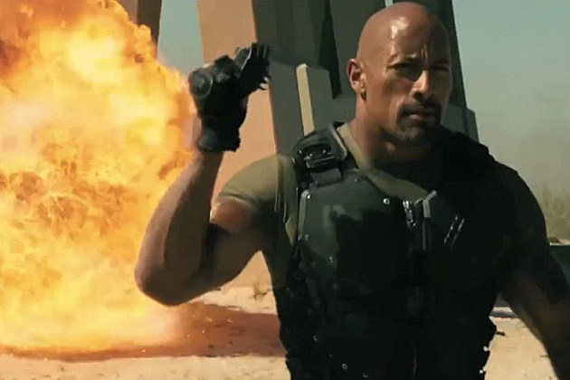 GI Joe Retaliation footage