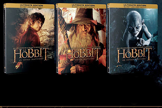 The Hobbit DVD Blu ray