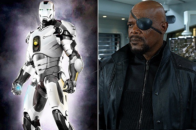 Iron Man, Nick Fury