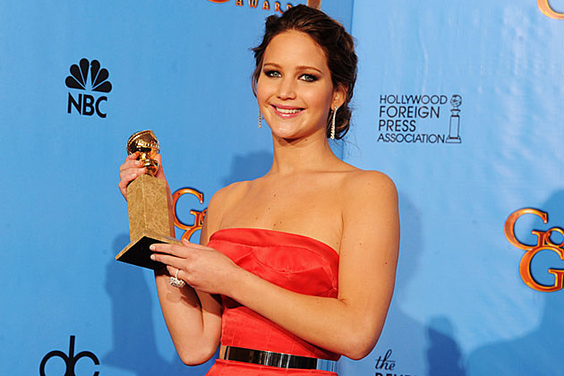 Jennifer Lawrence 2013 Golden Globes