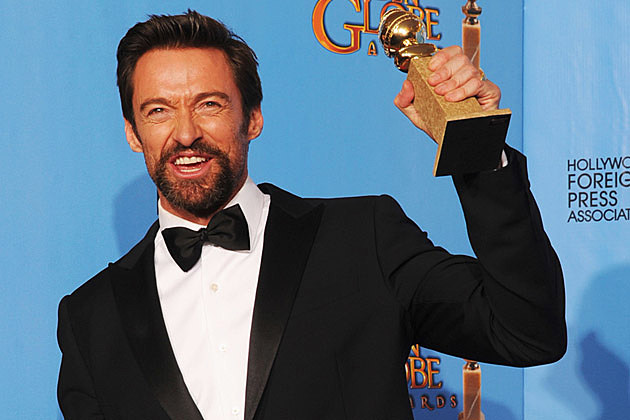 Hugh Jackman 2013 Golden Globes
