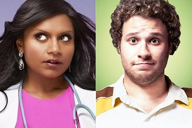 The Mindy Project Seth Rogen