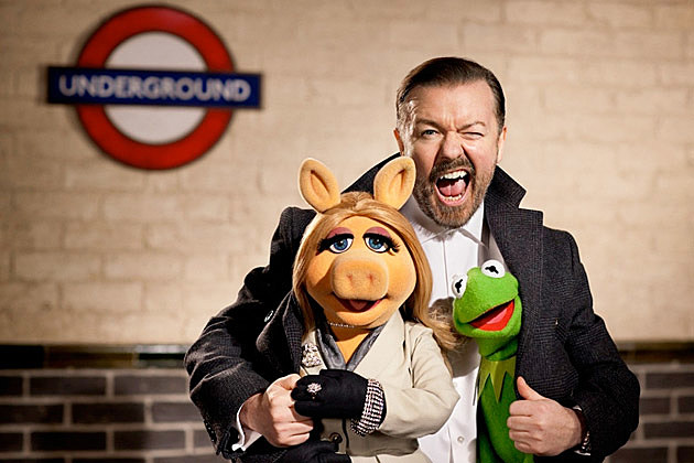 Muppets 2 Ricky Gervais
