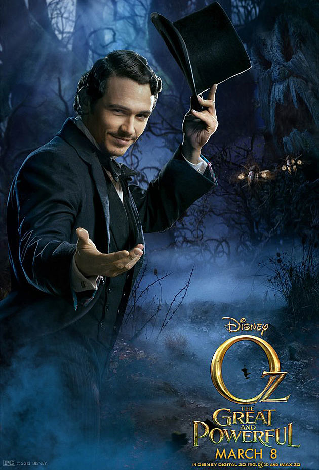 Oz The Great and Powerful Poster James Franco
