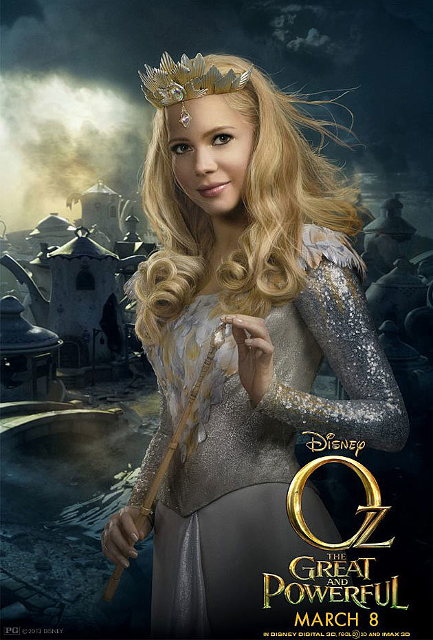 Oz The Great and Powerful Poster Michelle Williams