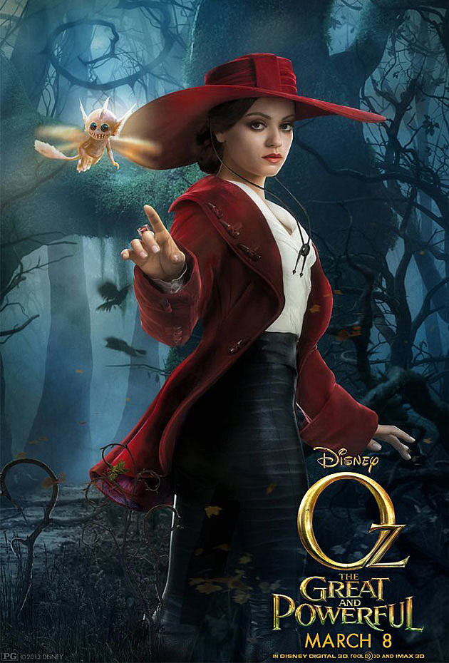 Oz The Great and Powerful Poster Mila Kunis