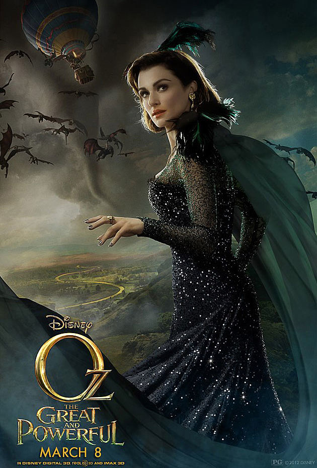 Oz The Great and Powerful Poster Rachel Weisz