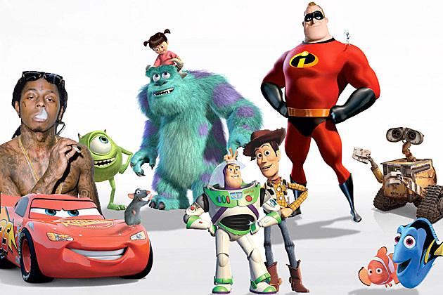 Pixar Lil Wayne