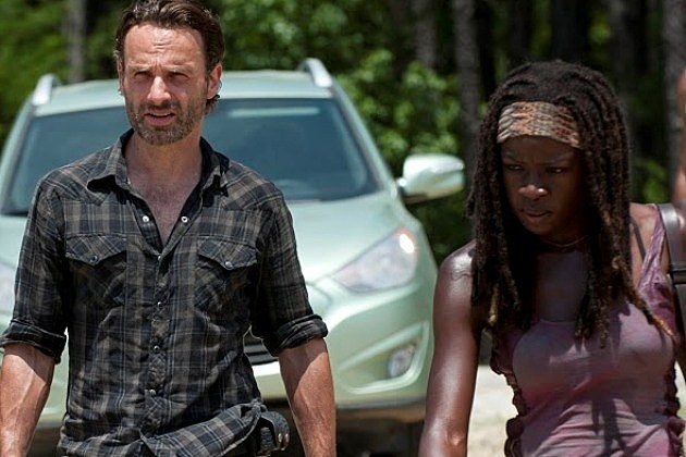 The Walking Dead Season 3 Trailers Spoilers Rick Michonne Morgan