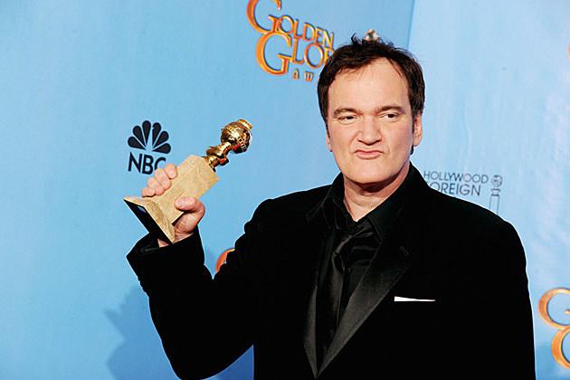 Quentin Tarantino 2013 Golden Globes