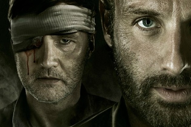 The Walking Dead Season 3 Poster An Eye For An Eye