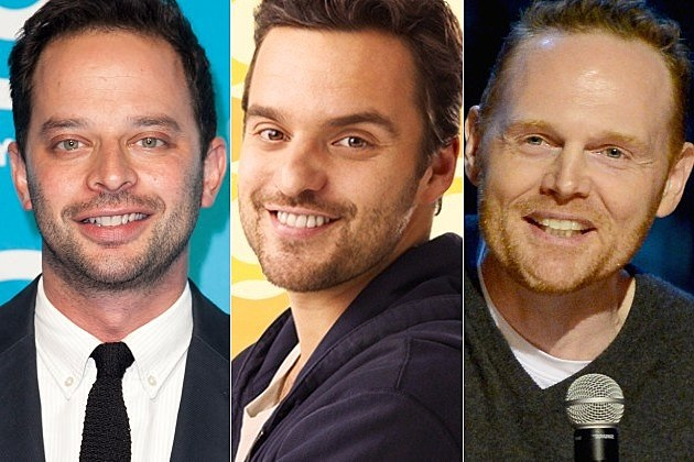 New Girl Nick Kroll Bill Burr