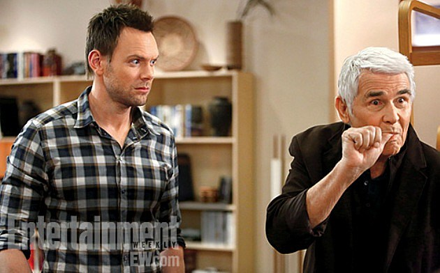 Community Season 4 James Brolin William Winger