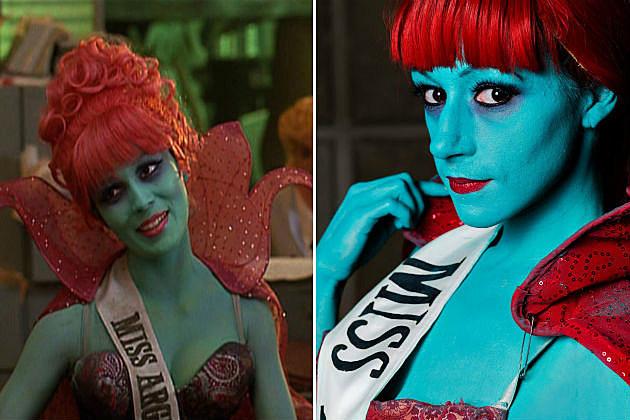 Miss Argentina Beetlejuice cosplay