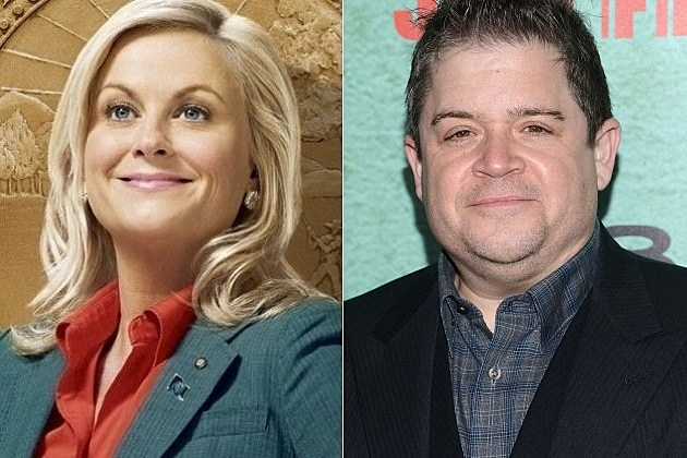 Parks and Recreation Patton Oswalt Amy Poehler