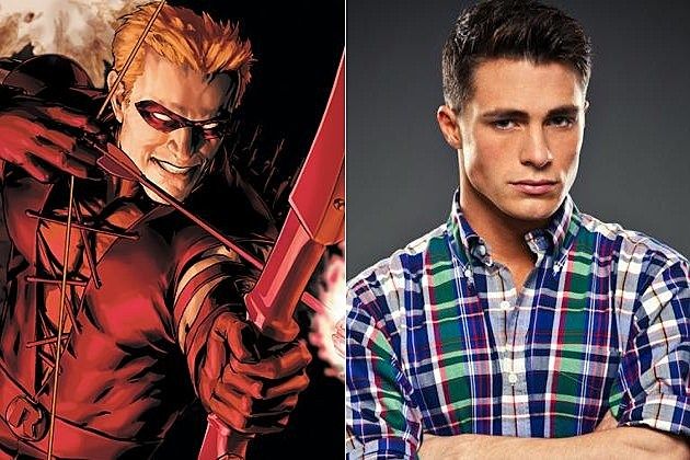 Arrow Colton Haynes Roy Harper