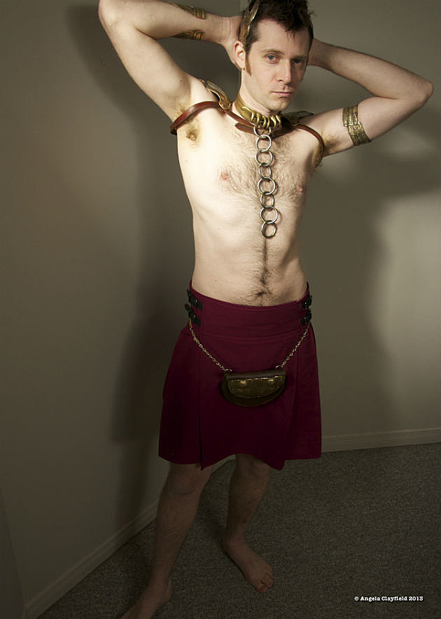 Slave Leo Cosplay