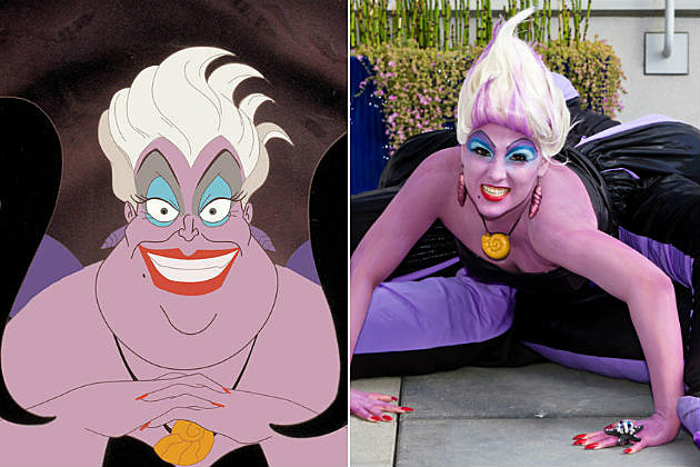 The Little Mermaid Ursula Cosplay