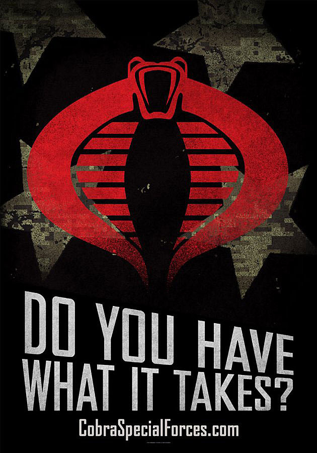 GI Joe Retaliation Cobra Posters