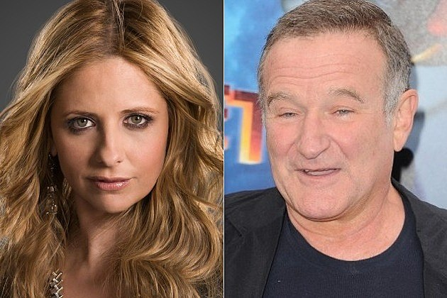 Sarah Michelle Gellar Robin Williams CBS Crazy Ones