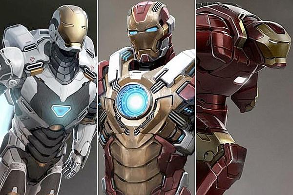 'Iron Man 3′ – Your Guide to Tony Stark's New Iron Man Armors