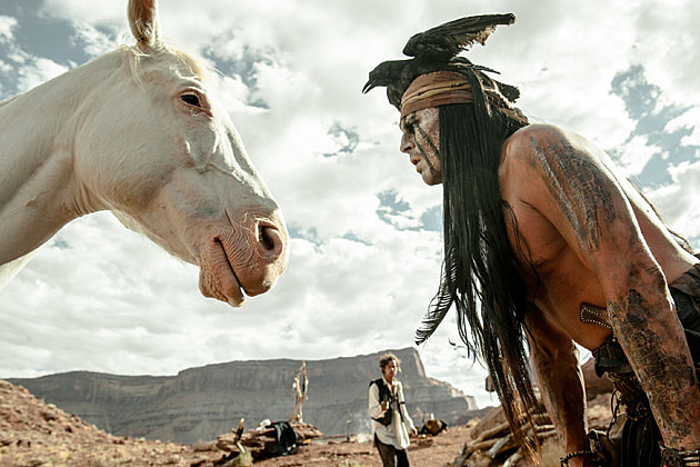 The Lone Ranger 2013 Super Bowl trailer