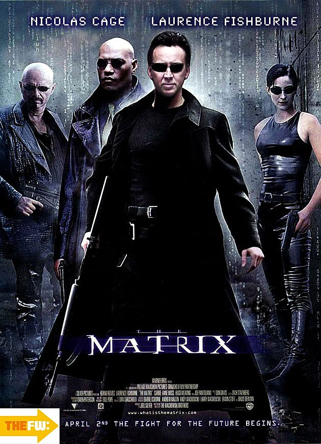 ... Matrix' With Nic Cage and 8 Other Movie Posters That Almost Happened