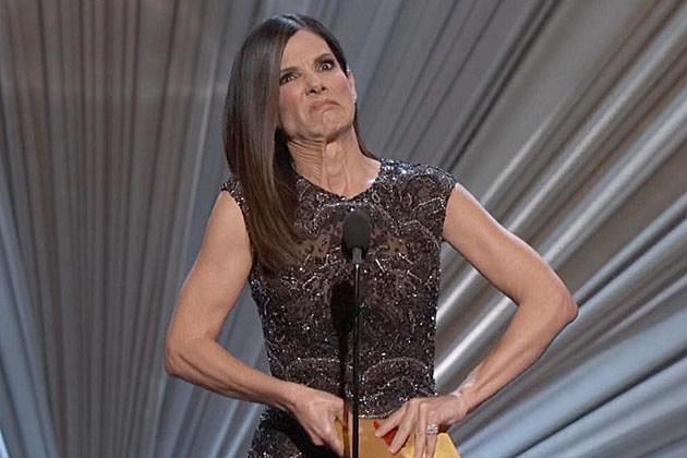 Sandra Bullock Oscar gifs