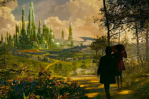 Oz the Great and Powerful Super Bowl trailer