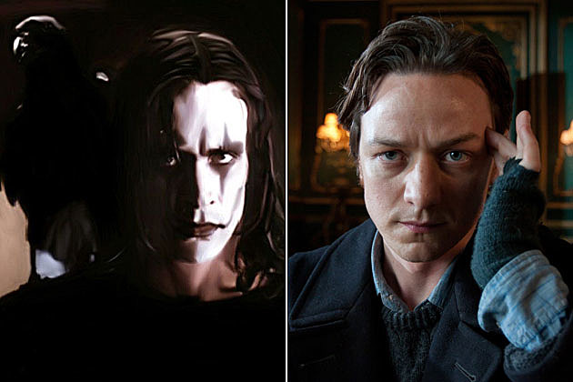 The Crow James McAvoy