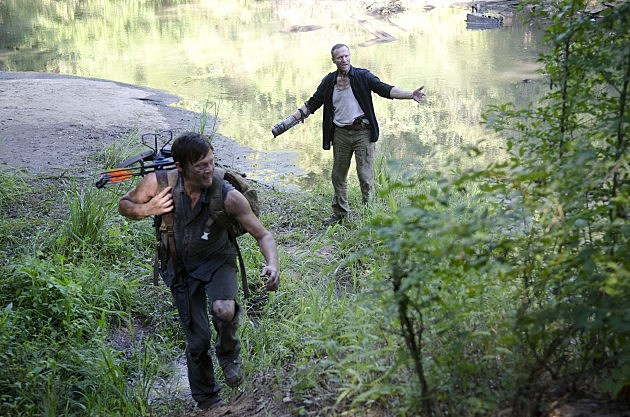 The Walking Dead Season 3 Home Photos