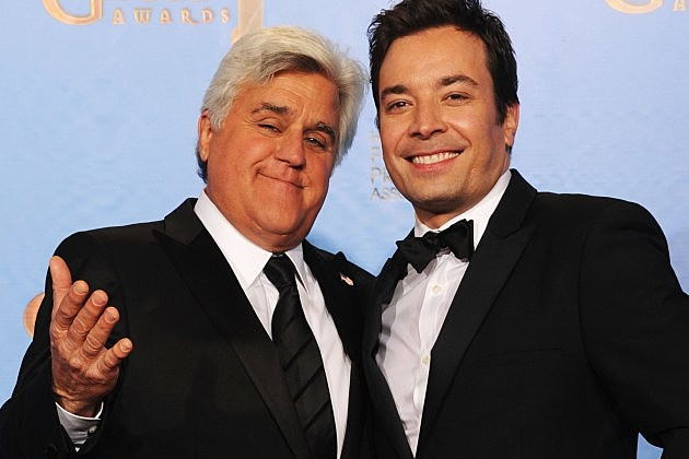 Jimmy Fallon Jay Leno The Tonight Show 2014