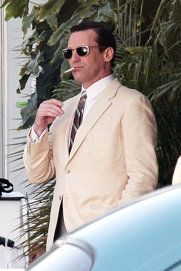 Mad Men Season 6 Spoilers Set Photo