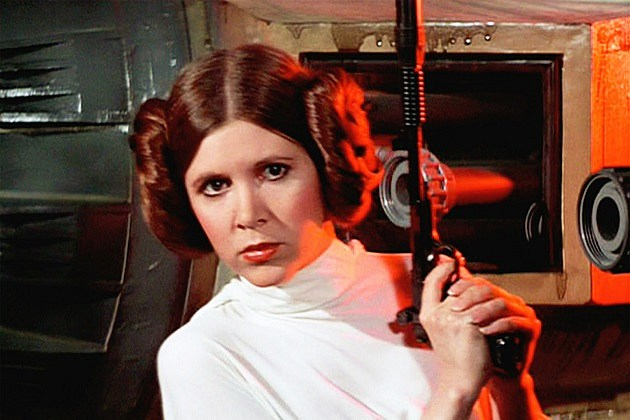 Star Wars Episode 7 Carrie Fisher