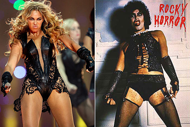 Beyonce Super Bowl Frank N. Furter