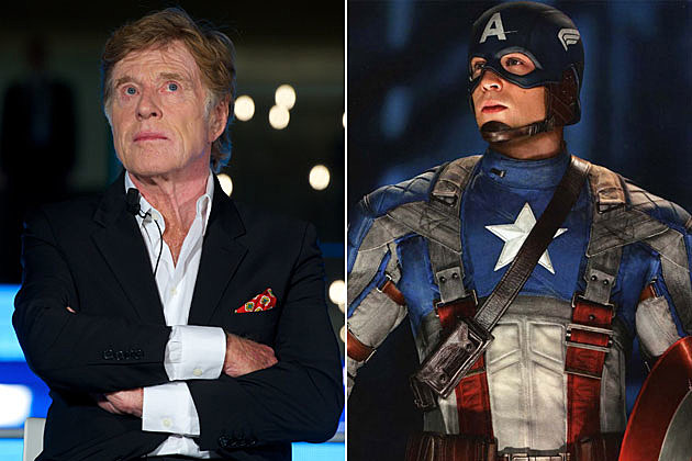 Captain America 2 Robert Redford