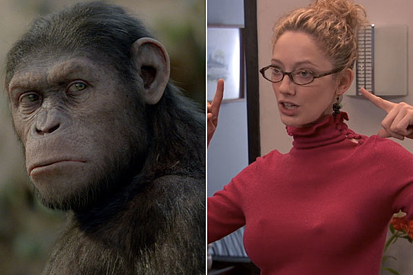'Dawn of the Planet of the Apes' Transforming Judy Greer Into Our New Cornelia!