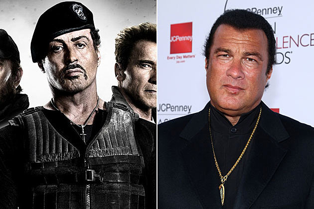 The Expendables 3 Steven Seagal